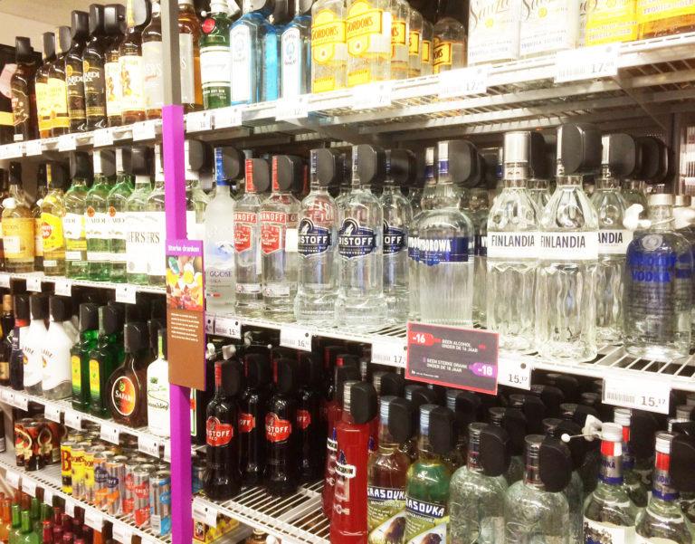 Superrmarkt-sector-albert-heijn-bottlecaps-belicht
